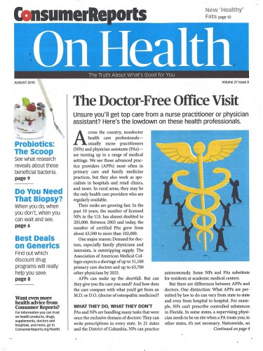 Best Price for Consumer Reports on Health Magazine Subscription