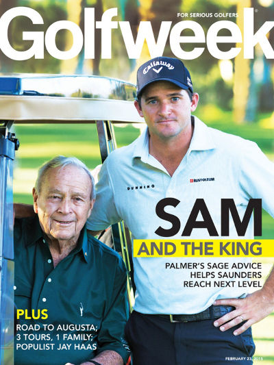Golf Week Magazine cover