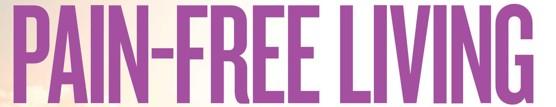 pain free living magazine brand logo