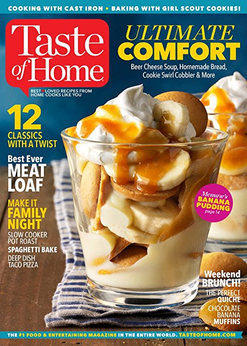 Taste of home magazine subscription renewal gifts for Food network magazine phone number customer service