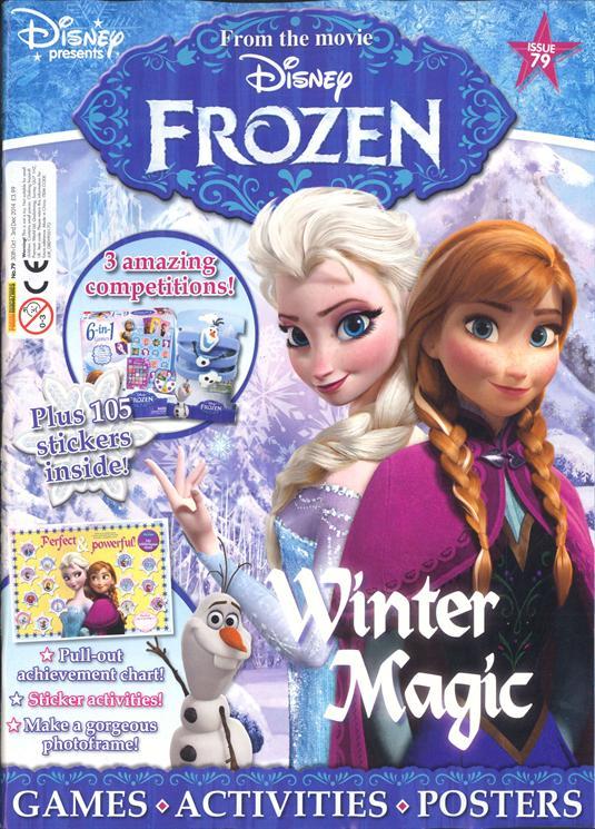 Disney Frozen Magazine Cover