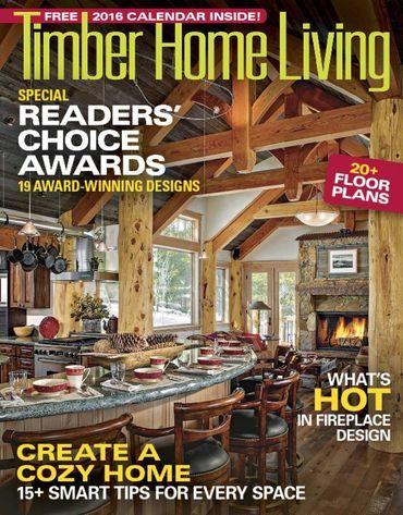 Timber Home Living Magazine