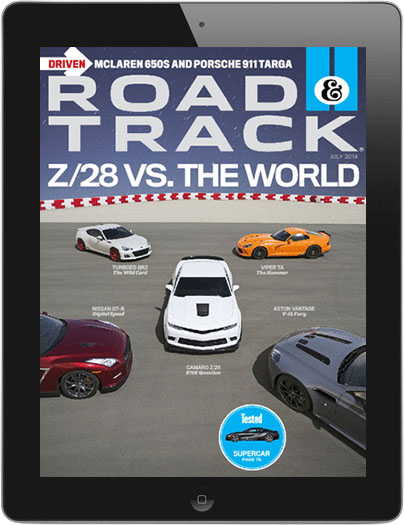 Road & Track Magazine Digital