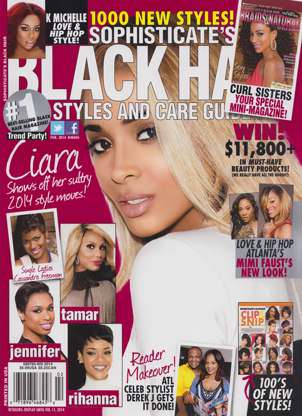 Black Hair Magazine Cover