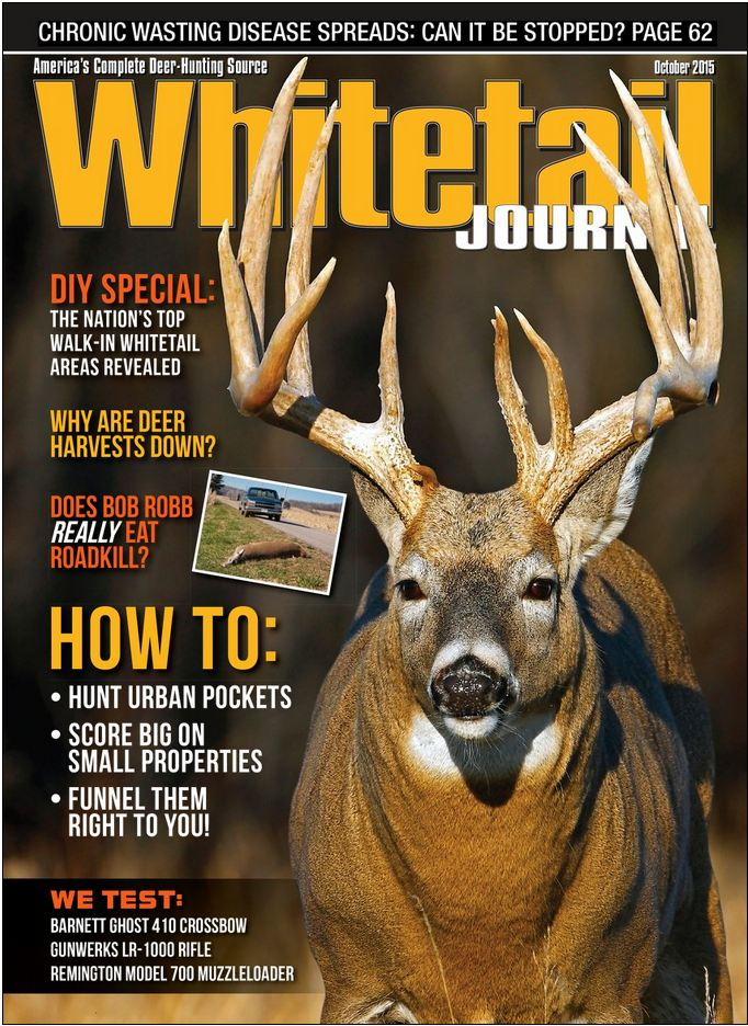 whitetail journal magazine cover