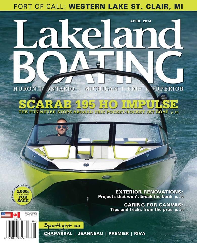 Lakeland Boating Cover