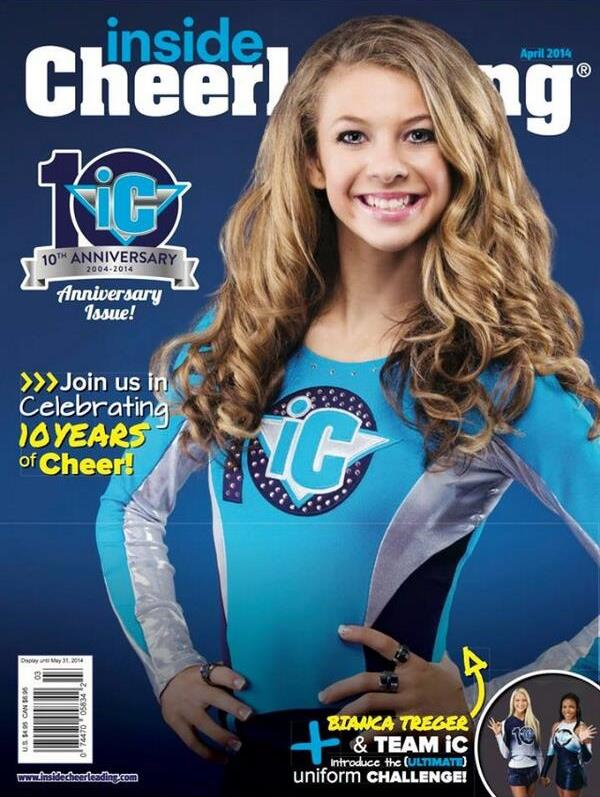 Inside Cheerleading Magazine Subscription