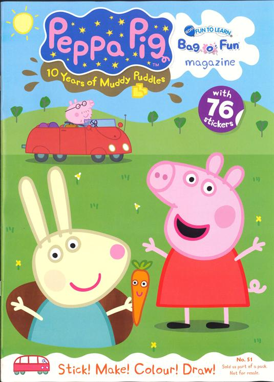 Peppa Pig Magazine Cover