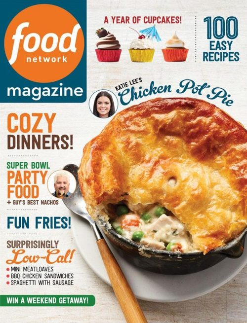 Get cooking with Food Network Magazine! You'll find recipes from your favorite stars, weeknight dinners and 50 inspirational eats in every issue.
