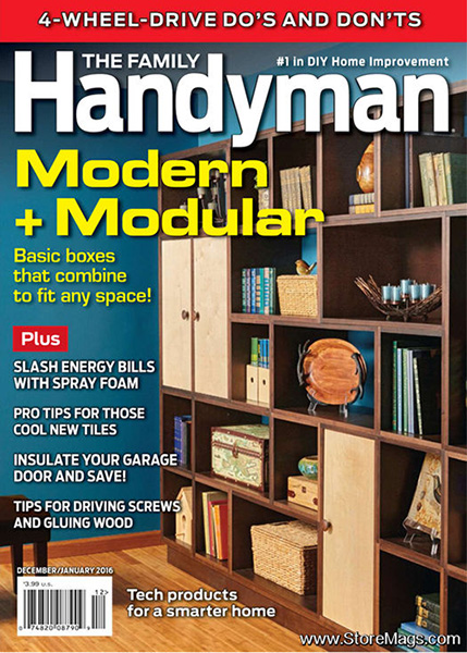 Family Handyman Magazine cover