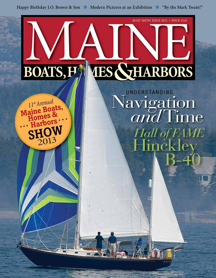 Maine Boats, Homes & Harbors Magazine