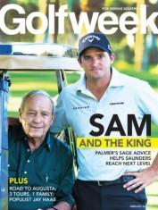 Golf Week Magazine cover