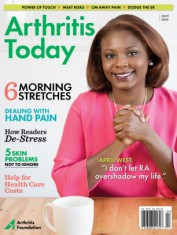Arthritis Today Magazine Cover
