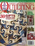 American Patchwork & Quilting Magazine