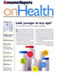 Consumer Reports On Health - 2013-09-01